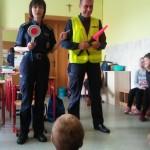 Policjanci w szkole